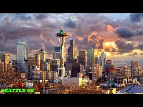 SEATTLE WASHINGTON TRAVEL DAY | TIMELAPSE IN 4K!!!