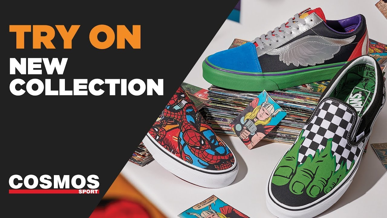 73bac82060f329 Vans x Marvel Collection 2018