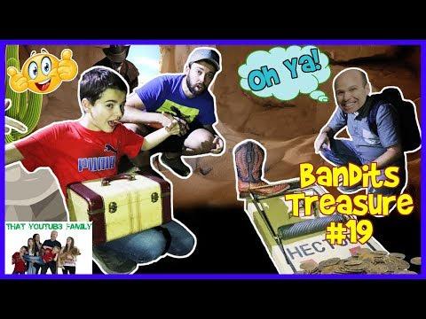 BANDiTS TREASURE  TRAPPiNG The BANDiTS #19 That YouTub3 Family