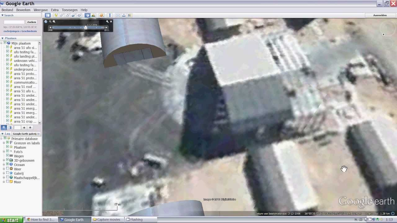 *new* Google Earth 2013 How To Find A Ufo In Area 51 Hd  Youtube