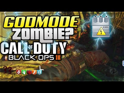BLACK OPS 3 ZOMBIES: GODMODE ZOMBIE OUT OF THE MAP!!! (ZETSUBOU NO SHIMA GLITCH BO3)