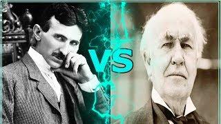 Никола Тесла против Томаса Эдисона: Кто гений?