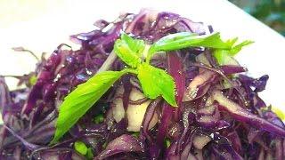 Салат из синей капусты / Salad of blue cabbage