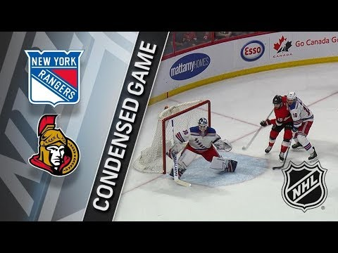 New York Rangers vs Ottawa Senators – Feb. 17, 2018 | Game Highlights | NHL 2017/18. Обзор