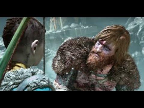 Atreus kills Tor's son - Modi. God of War 4. 2018 |EGM
