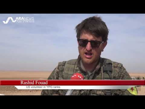 US volunteer in YPG ranks: Raqqa operation going well, ISIS unable to resist for long