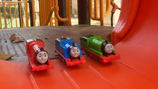 Video Thomas and Friends Accidents Will Happen Playtime Toy Trains In the Park download MP3, 3GP, MP4, WEBM, AVI, FLV Desember 2017