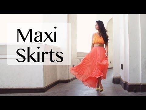 Maxi Skirt Pairings