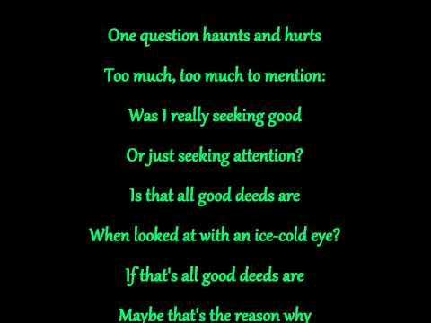 No Good Deed-Wicked-Lyrics