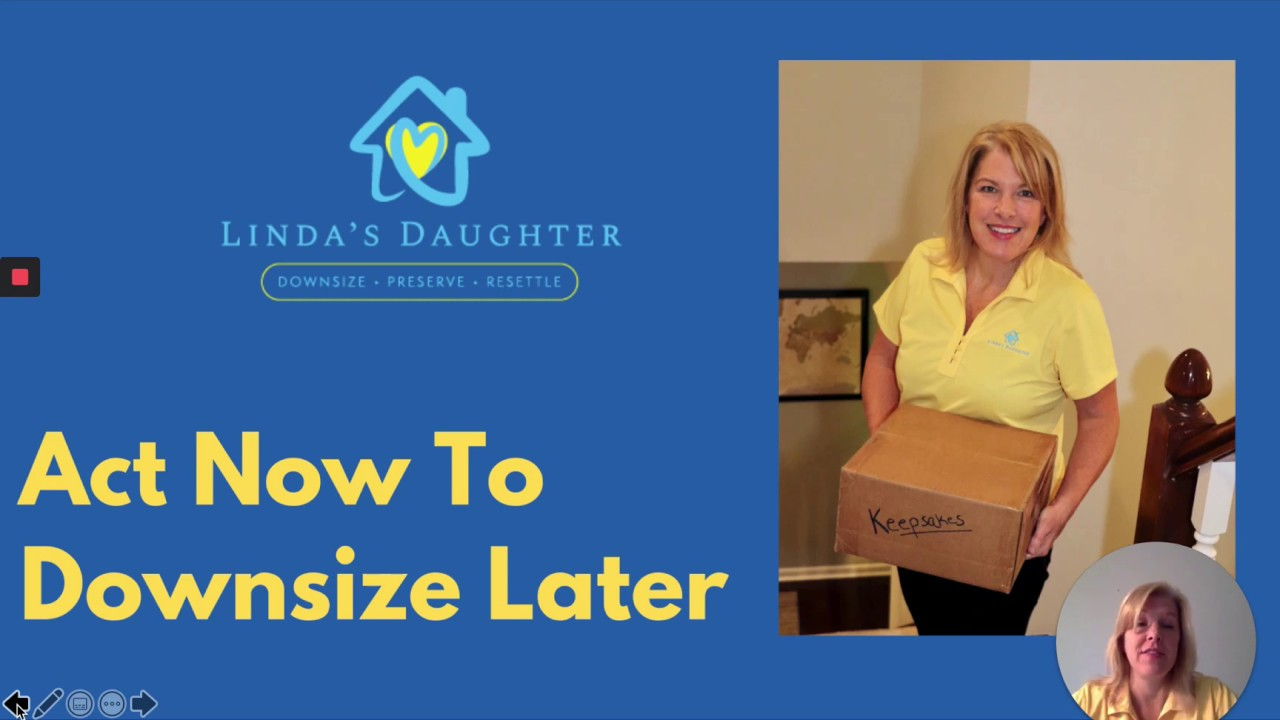 Act Now, Downsize Later webinar