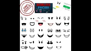 100% real how to get free faces on roblox read desc