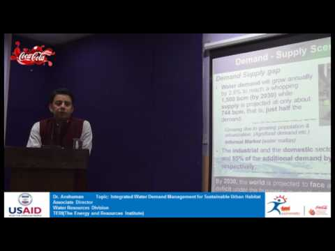 Integrated Water Demand Management for Sustainable Urban Habitat by Dr Anshuman