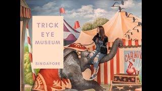 Singapore Vlog + Trick Eye Museum | Nabila Gardena