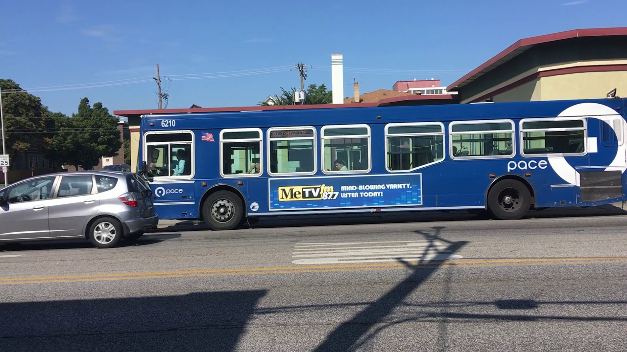 Pace Bus 6210 on Route 307