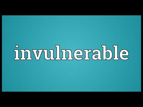 Invulnerable Meaning