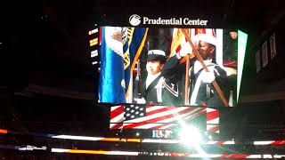 71765a88a The National Anthem at the NJ Devils Game 11 11 ...