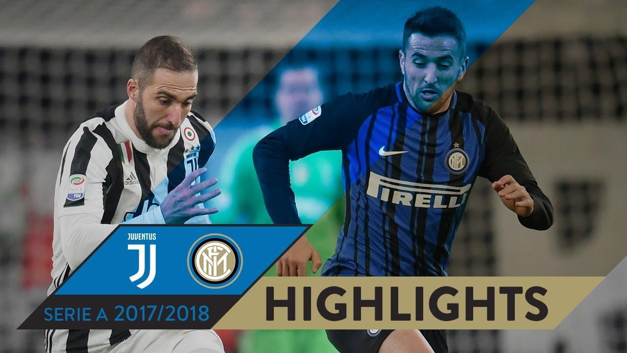 Juventus Inter 0 0 Highlights Matchday 16 Serie A Tim 2017 18