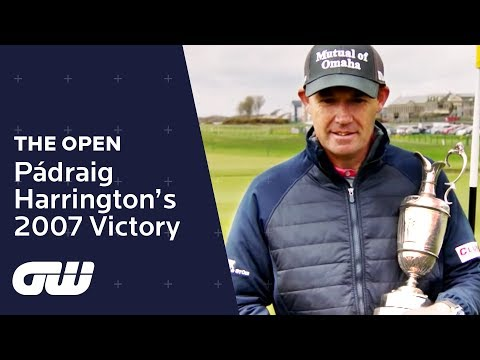 Padraig Harrington Relives Dramatic Carnoustie Victory   The Open Championship