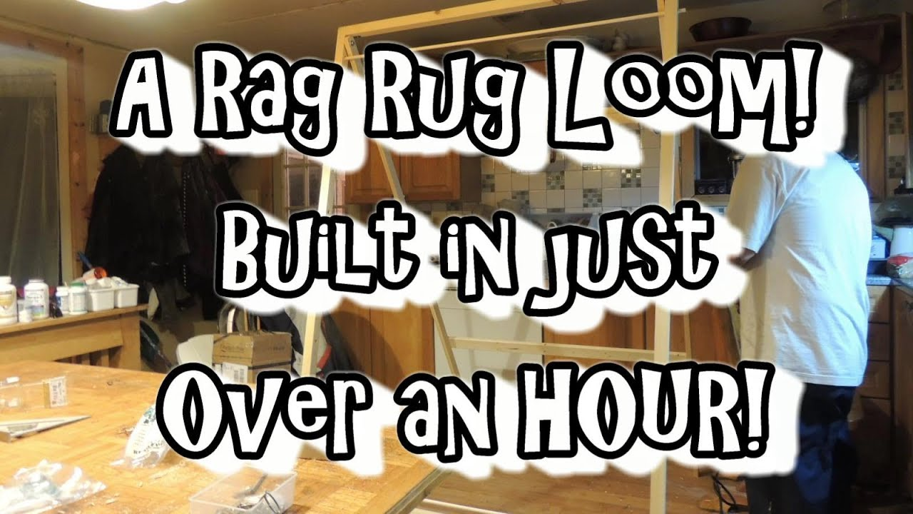 Rag Rug Loom Built By Volfie Youtube
