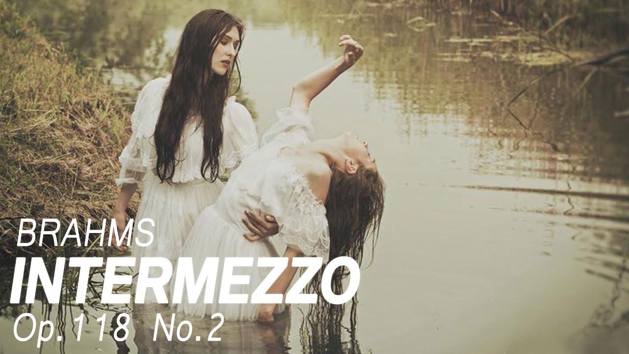 Brahms: Intermezzo Op.118 No.2 | Rainy Piano Version by Leo Sestili