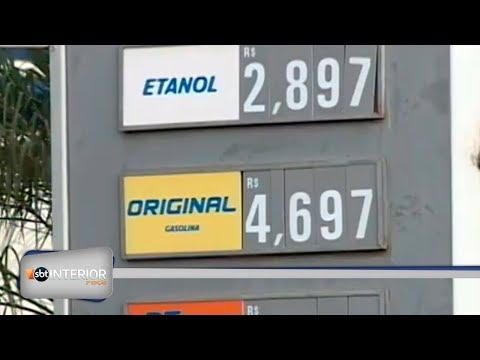 Gasolina está mais cara nos postos