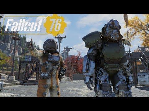 異塵餘生76 'Fallout 76 Ep.19' - 部分 T-51b 動力裝甲部件、營地砲台BUG、格拉夫頓怪獸(神祕生物) | 異塵餘生系列41集