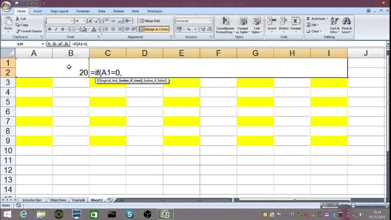 Car Park Spreadsheet Youtube