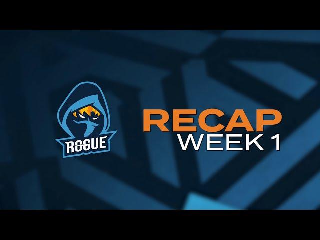 ROGUE COMMS | LEC WEEK 1