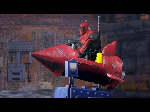 Top 10 Deadpool Funny Moments From Deadpool The Game [#1]