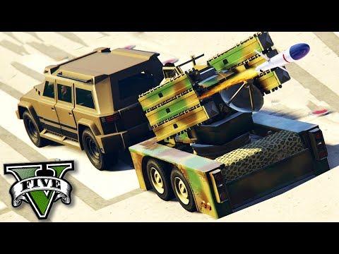 GTA V Online: A MISSÃO de PROTEÇÃO AÉREA!!! (DLC GUNRUNNING)