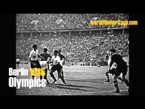 Berlin 1936 - Olympics - Finale Fußball, Footbal: Italia vs Austria