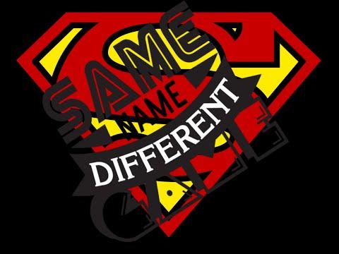 Same Name, Different Game: Superman