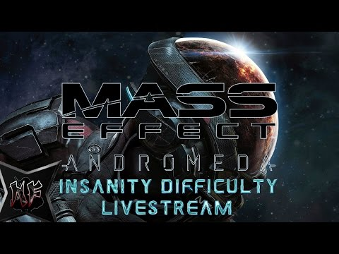 Mass Effect : Andromeda | Insanity Difficulty - Biotic Scrapper | Ninja Flips LiveStream PS4 Pt.3