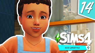GROWING FAMILY 👨👩👧👦 // The Sims 4: Eco Lifestyle #4
