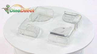 Smile Face Safety Hard Angle Desk Corner Protector  From Dinodirect.com