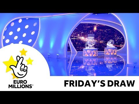 The National Lottery 'EuroMillions' Draw Results FromFriday 29th November 2019