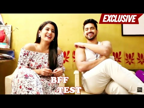 BFF Test with Zain Imam & Aditi Rathore | Naamkaran | EXCLUSIVE thumbnail
