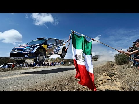 High Speed Rallying In Mexico - FIA World Rally Championship 2015