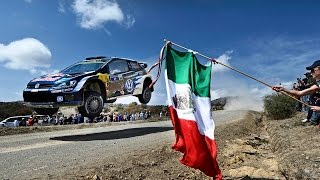 Red Bull: High Speed Rallying in Mexico - FIA World Rally Championship 2015