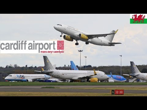 Full day PlaneSpotting Cardiff Airport EGFF [Wales] May 2018