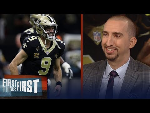 Nick Wright: Drew Brees and the Saints are at the best team in football | NFL | FIRST THINGS FIRST