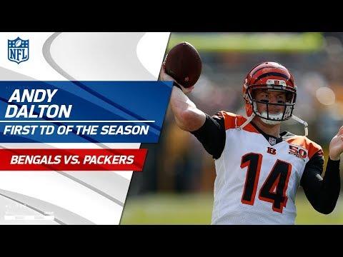 Cincinnati Scores First Touchdown of the Season!   Bengals vs. Packers   NFL Wk 3 Highlights
