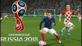 Griezmann vs Croatie | Huitième de Finale Coupe du Monde 2018 Russie #04 PES 2018