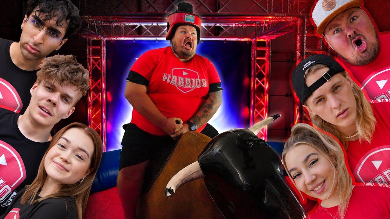 Kuka pysyy pisimpään rodeo-härän selässä? | TUBEWARRIOR #1