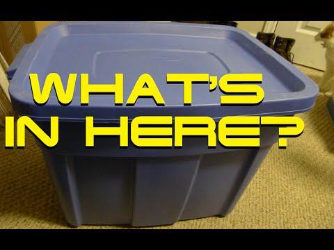 ✔ BIG BLUE BIN FULL OF NES GAMES! - WHAT'S INSIDE? ✔