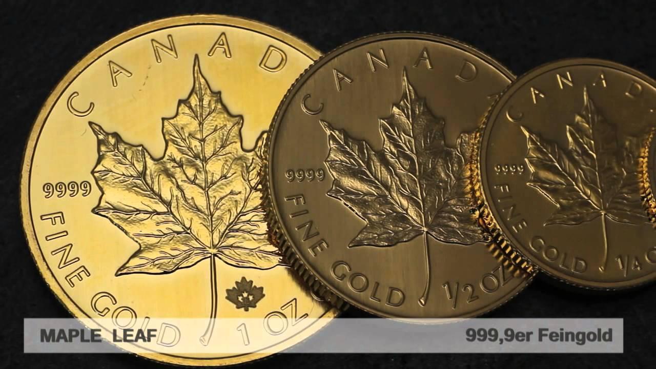 Goldmünze Maple Leaf (Kanada)