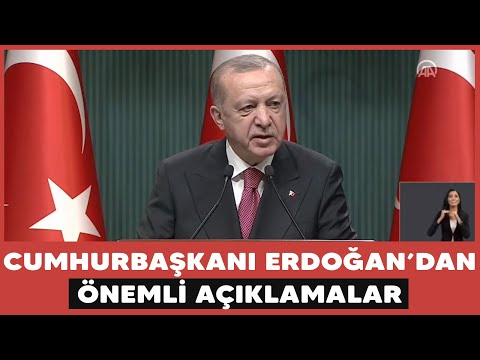 Cumhurbaşkanı Erdoğan Normalleşme Takvimini Açıkladı!