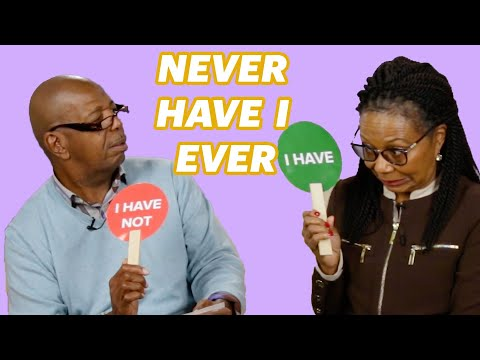 Black Grandparents Play Never Have I Ever