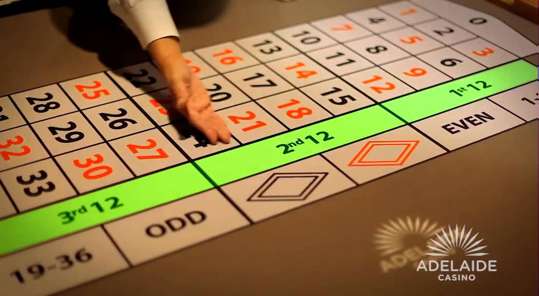 Roulette at casino
