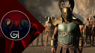 TAKING BACK THE LELEGES CAMP - Assassin's Creed Odyssey Gameplay (E3 2018)